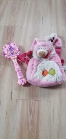 Plecaczek i różdżka dla dziewczynki