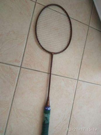 Raquete badminton marca victor modelo superior com mala raquetes