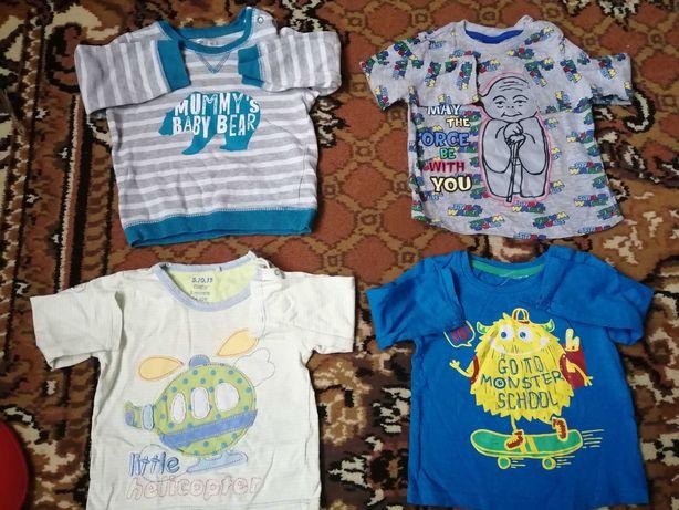 Mega paka dla niemowlaka ubranka dla chłopca rozmiar 74