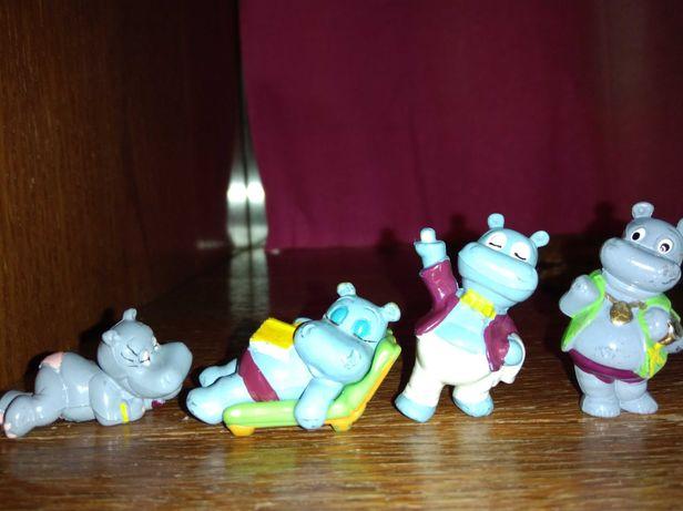 Статуэтки статуетки мультяшки мультяшные герои игрушка Киндер сюрприз