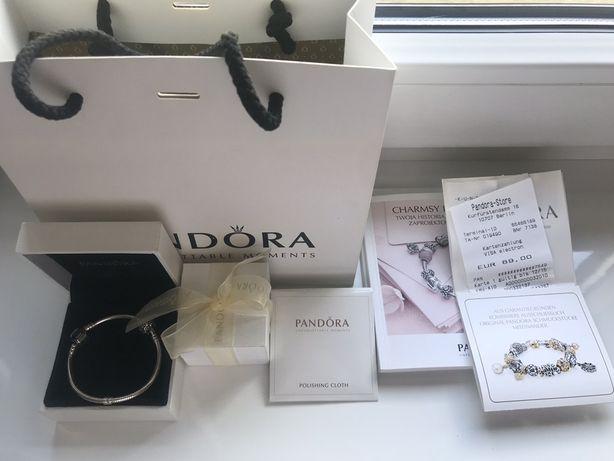Pandora bransoletka srebro