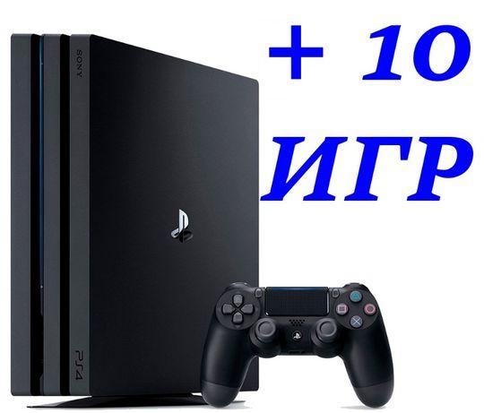 PS4 PRO 1 Tb + 10 ИГР (5 НА ВЫБОР) есть FIFA20