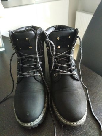 Зимние ботинки под Timberland 40p