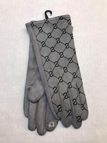 Nowe Rękawiczki Ze Wzorem