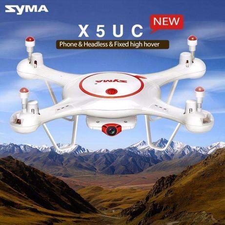 DRONE QUAD-COPTER SYMA X5UC 2.4G -4 Canais com Gyro + Camera HD