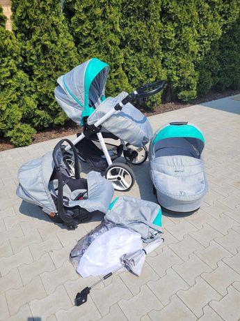 Wózek 3w1 Bebetto Vulcano