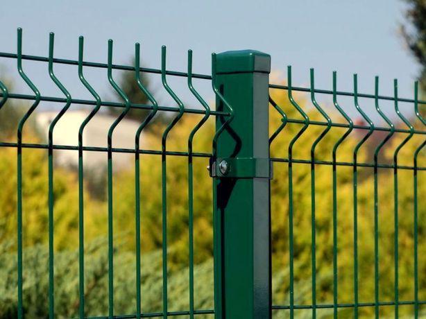 panele ogrodzeniowe wys.173cm/250/5mm ocynk+malowanie proszkowe chełst
