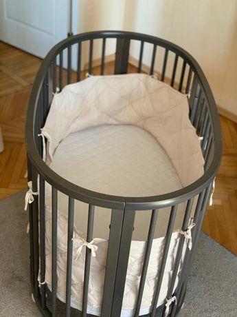 Детская кроватка Stokke sleepi 2 в 1 (hazy grey)