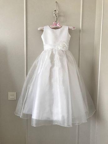 Шикарное длинное бальное платье 6-8 лет Нарядное платье для выпускного