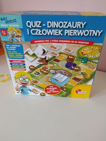 Zabawki/Gra 5+ quiz-dinozaury i człowiek pierwotny