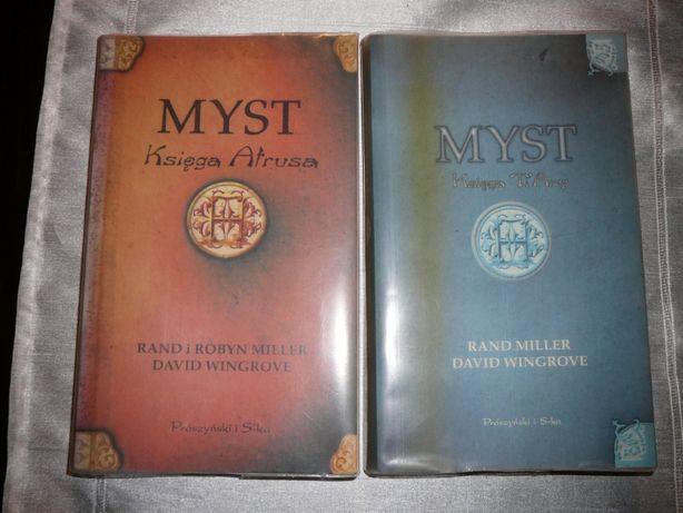 Fantastyka Myst księga artusa i ti'any komplet David Wingrove