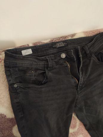 Мужские джинсы темно серые