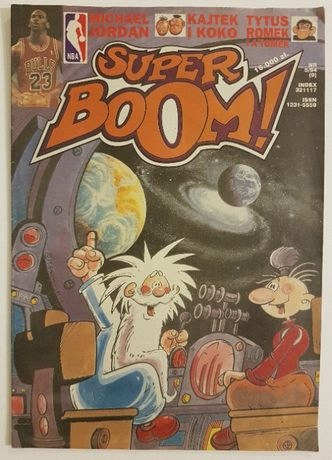 Super Boom Magazyn Komiksowy Nr 5/94
