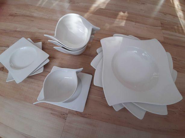Zastawa, porcelana Villeroy & Boch talerze 12 cześci