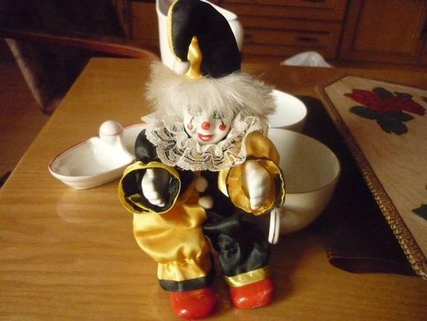 Klaun ceramiczny figurka