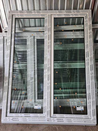 Drzwi balkonowe z ruchomym słupkiem