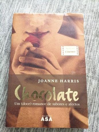 Livro « Chocolate» - Joanne Harris (oportunidade)