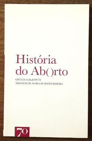história do aborto, giulia galeoth, edições 70