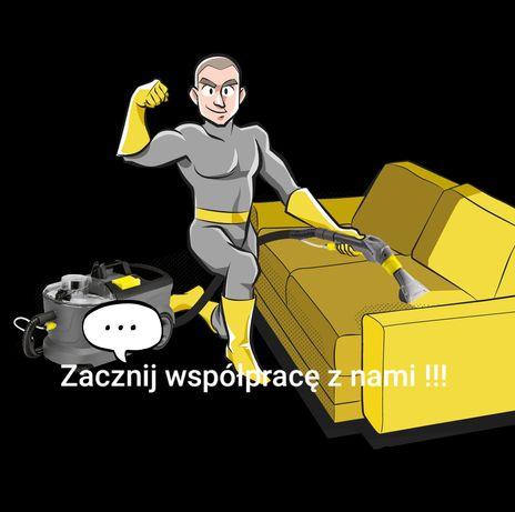 Pranie,czyszczenie tapicerki,dywanów:Skała,Kraków,Słomniki.