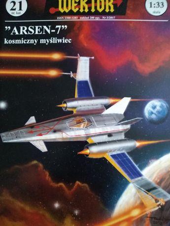 """Kosmiczny myśliwiec """"Arsen-7"""""""