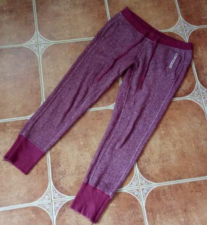 CONVERSE damskie spodnie dresowe dresy sportowe fitness melanż S M