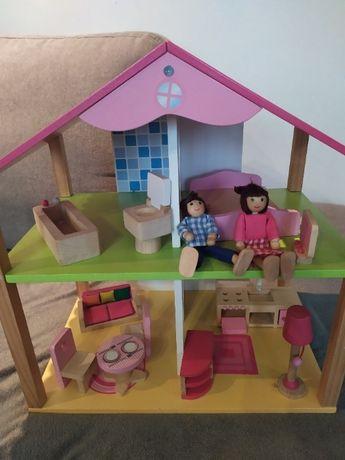 Drewniany domek dla lalek Eichhorn
