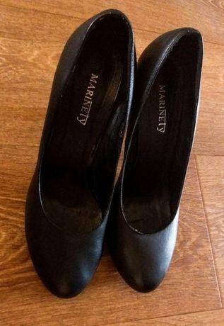 Кожаные туфли мягкие