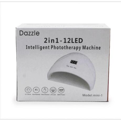 LED UV лед уф лампа Dazzle mini-1 36вт для наращивания ногтей