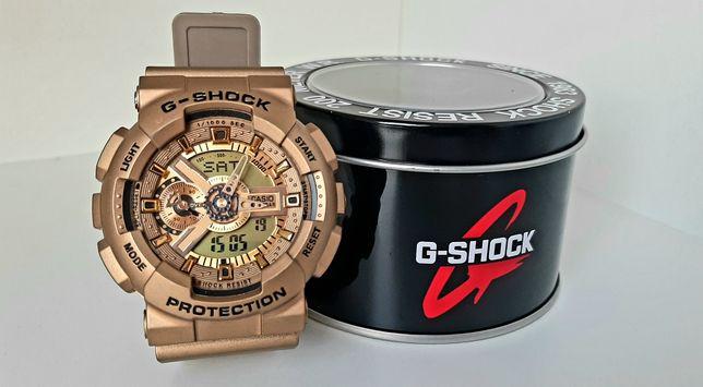 NOWY Zegarek Casio G-SHOCK GA110 gshock z pudełkiem złoty