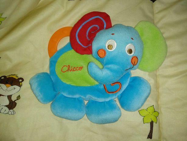 Мягкая игрушка-слоник Chicco от 0 до 6 месяцев