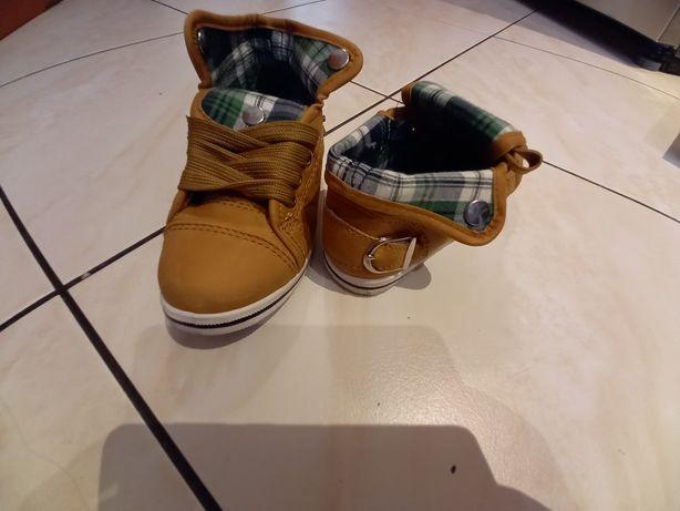 Buty chlopiece przejsciowe