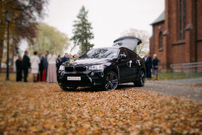 Auto do ślubu BMW X6 M