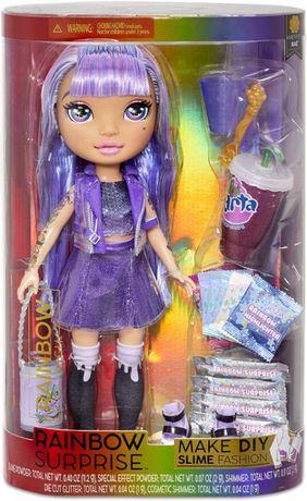 Poopsie Rainbow Surprise Dolls кукла Пупси Фиолетовая леди со слаймами
