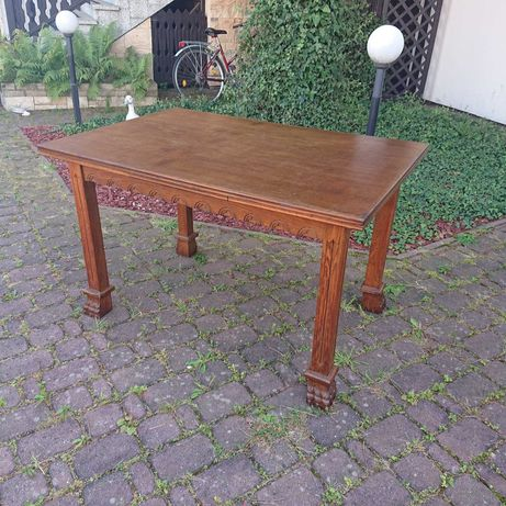 Stół rozkładany z drewna dębowego , super stan