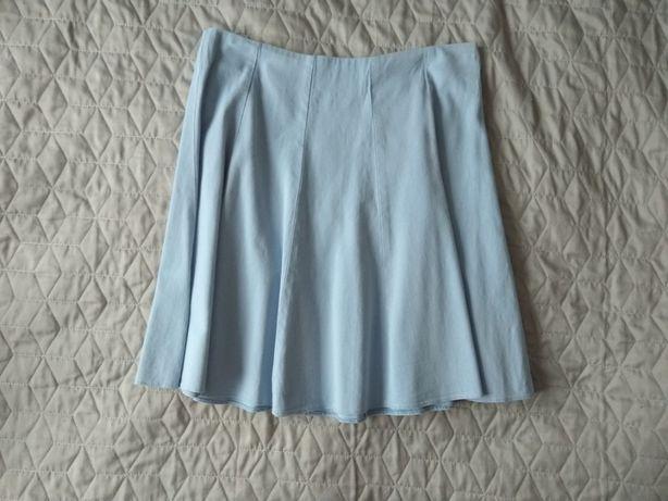 Niebieska, błękitna spódnica Orsay rozm. S