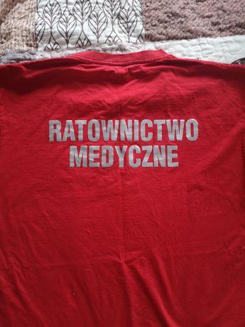 Koszulka, koszulki ratownictwo medyczne roz. XL i L