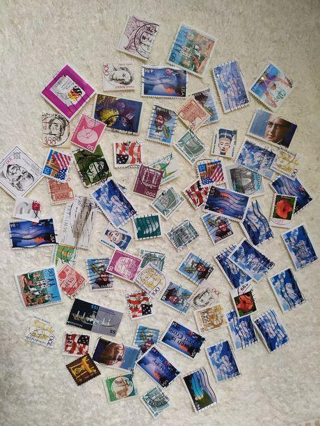 Znaczki pocztowe (USA,Niemcy)