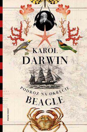 """Podróż na okręcie """"Beagle"""" - Karol Darwin [nowa]"""