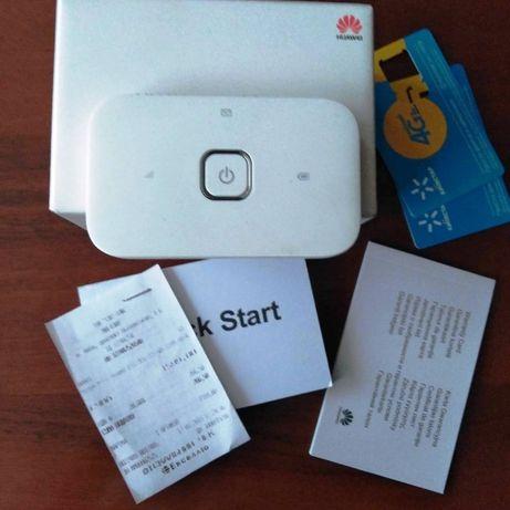 Модем 4G + Мобільний Wi-Fi роутер HUAWEI E5573С
