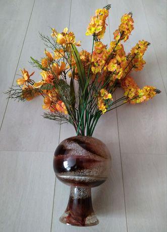 Ваза шар советская ваза искусственное стекло напольная космический