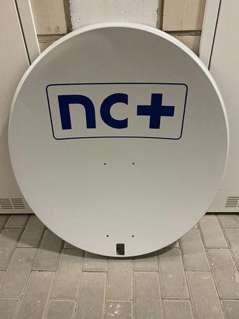 Antena satelitarna, telewizyjna, NC + plus, z uchwytem i konwerterem