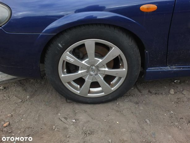 Felga aluminiowa 16 cali do Nissan Almera N16 lift 2003 r. 3D 1.5 16V 98KM kolor BW6