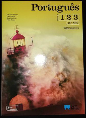 Manual Português Curso Profissional 10ºano - Nunca Usado