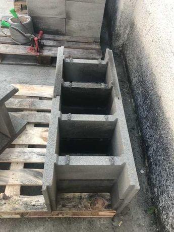 Блок опалубочкий фундаментний проливний zsalukő 20х40х50