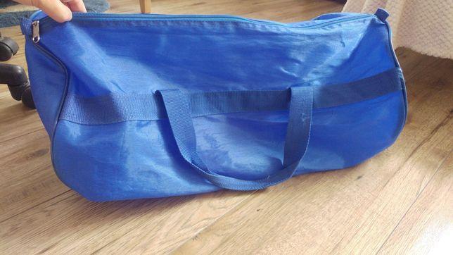 Torba na siłownie fitness podróżna walizka miękka torebka