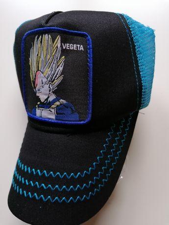 Dragon Ball z Vegeta czapka z daszkiem lato songo dbz prezent