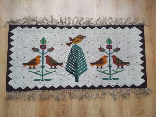 Nowy piękny kilim, rękodzieło. 100% wełna. Wymiary: 146 cm x 70 cm