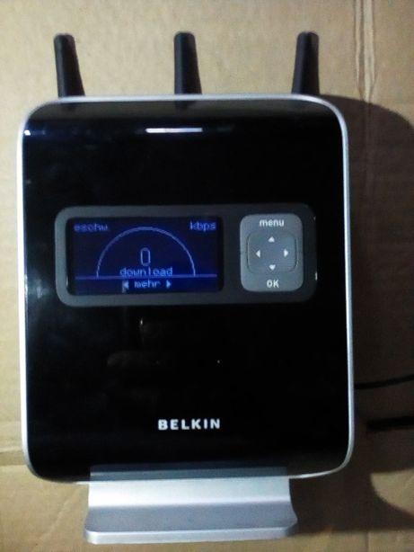 Router Belkin Vision N 1 z wyświetlaczem LCD