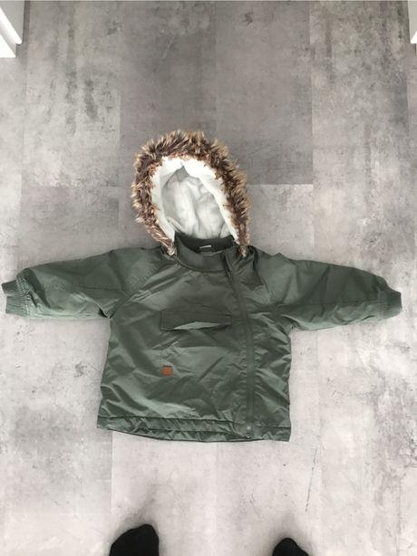 Kurtka zimowa chłopięca H&M rozmiar 80
