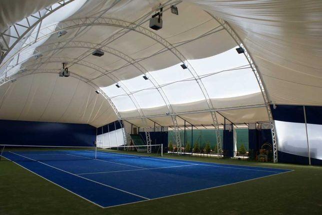 Hala namiotowa łukowa tenisowa